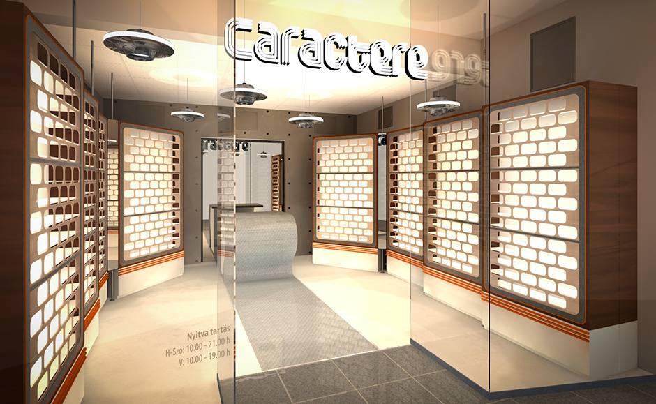 Caractere - napszemüveg bolt